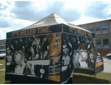 3m x 3m Branded Marquee Package with WALLS