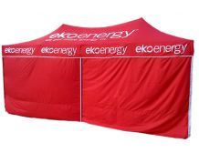 3m x 6m Branded Marquee Package with WALLS